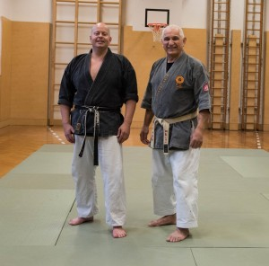Shihan Johnny Bernaschewice and Andreas Petz